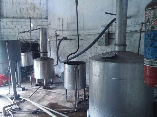 Distillery in Linha Betania